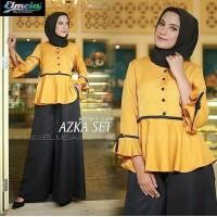 NEW PRODUCT Baju Muslim Wanita Azka Set PREMIUM