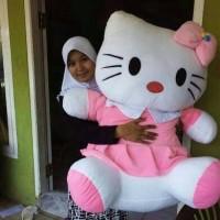Jual boneka hello kitty hk hello kity helo kity super jumbo big besar ged Murah