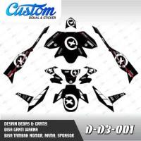 246 Dekal Stiker Motor New Vixion 2015 (D-D3-001) Decal Sticker