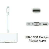 Apple Original New Macbook 12 13 15 pro usb C to VGA Multiport Adapter