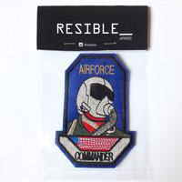 IRON ON Airforce Commander Pilot Patch bordir emblem badge pilot NASA