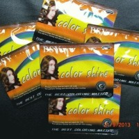 BSY NONI Shampo Warna / BSY Color Shine ORIGINAL - DARK BROWN