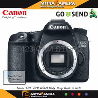 Canon EOS 70D DSLR Body Only Built in Wifi