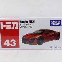 | TERLARIS NEW PRODUK | Tomica Reguler No 43 Miniatur Mobil Honda NSX