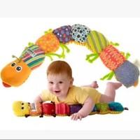 60CM Lamaze WormInch Ukuran Panjang Bayi Musical Inchworm Soft Toy
