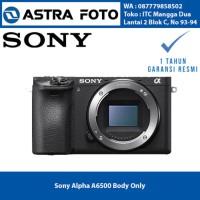 Harga sony alpha a6500 body only kamera mirrorless garansi resmi barang | Pembandingharga.com