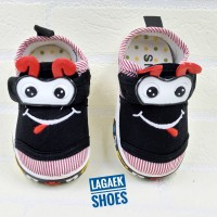 Sepatu Anak Import 8 Bulan-2 Tahun BIRU Bunyi Toet-Toet bagus SKU-