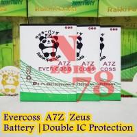 BATERAI CROSS EVERCOSS A7Z ZEUS DOUBLE POWER PROTECTION GARANSI 1 TAHU