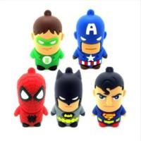 USB Flash Disk 8GB superhero superman batman spiderman lantern AU T30