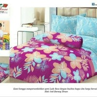 SPREI LADY ROSE 180 B4 ESSLY BANTAL 4 180X200 KING SIZE NO. 1
