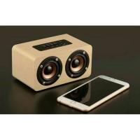 speaker bluetooth kayu W5
