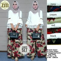 cindy set kulot ori by ZM COLLECTION