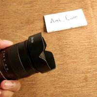 lens hood canon ew54 mirrorles eos m m2 m3 m10 m5 m6 lensa EFM 18 55