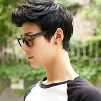 wig/wik cowok pria laki2 rambut palsu korea keren mirip rambut asli