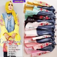 Jual SALE MURAH Lava Blouse Atasan Jeans Washed Premium Mix Katun Bordir Pr Murah