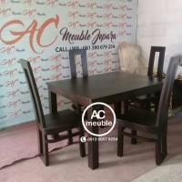 Kursi makan,set meja makan minimalis