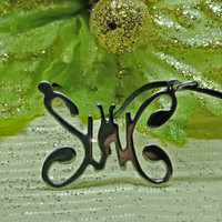Slank logo musik kalung Pria wanita kupu pgs 31