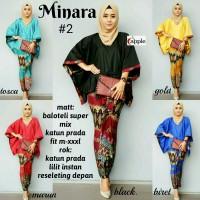 MINARA SET(baju remaja,kebaya,batik,hijab,fashion,modern,baju pesta)