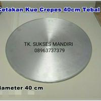 CETAKAN CREPES ASLI 40 cm Loyang Martabak Datar Tipker / Wajan Leker