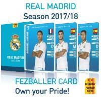 Kartu Fezballer Cards REAL MADRID season 2017/2018 REGULER EDITION