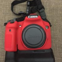 Canon EOS 70D Kit 18-135mm (wifi) with Lensa Canon Fix 50mm F/1.8 ii