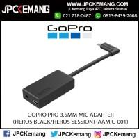 GOPRO PRO 3.5MM MIC ADAPTER (HERO5 BLACK/HERO5 SESSION) (AAMIC-001)