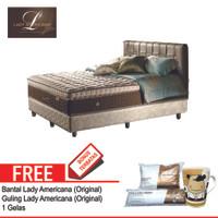 Lady Americana Set Kasur Spring Bed Excelsior 120 x 200