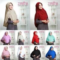 Jilbab Rabbani Hijab Syar i Khimar Jersey Serut Zanitha HJ72