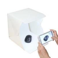 Photo Studio Mini Magnetic dengan Lampu LED Ukuran S
