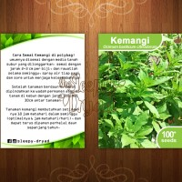 Benih Kemangi - Lemon Basil Seeds