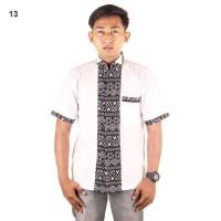Baju Koko Batik Alvin - Katun Primis