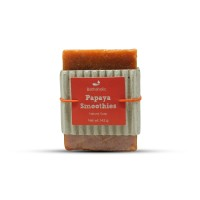 Natural Soap Papaya Smoothies 143 gram Sabun Alami Pepaya Bathaholic