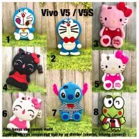 Softcase 3D boneka stitch doraemon Vivo V5 Case Y55 V5+ V5s cute