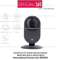 Xiaomi Xiaoyi Smart CCTV Camera dengan Night Vision - White