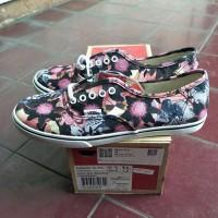 Vans Authentic Lo Pro Floral Mix Black / Pink