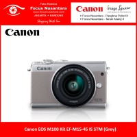Canon EOS M100 Kit EF-M15-45 IS STM (Grey)