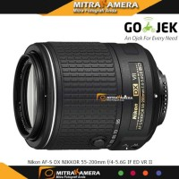 Lensa Nikon 55-200MM VR II NEW