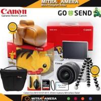 Canon EOS M10 Kit EF-M15-45mm (Paket Gebyar) NEW