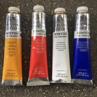 winton oil colour 200ml - cat minyak winton - Winsor and Newton