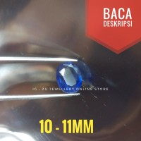 Natural Batu Permata Mulia Blue Sapphire / Safir Cutting (kating)