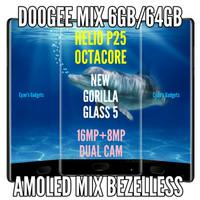 HP 4G Doogee Mix 6GB 64GB Amoled Bezelless Nougat 7 rival xiaomi mix