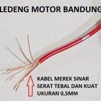 Kabel Single Merek Sinar Serabut Tembaga Tebal Kuat Bagus 1 Meter