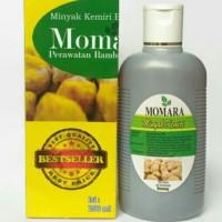 Minyak Kemiri Bakar MOMARA ukuran 250 ml mrah