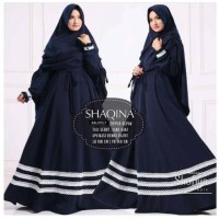 Gamis Syari Shaqina Set Khimar Hijab / Abaya Arab / Baju Fashi