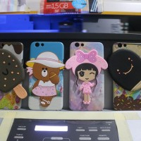 Silicon Casing Softcase Hard 3D head Lenovo P70 & P780