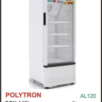 POLYTRON SCN140L Lemari Es Minuman SCN140 Showcase 3 Rak 140L Murah