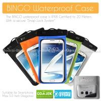 Bingo Waterproof Bag for Smartphone 5.5 Inch - Teman Tongsis