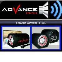 SPEAKER ADVANCE SUBWOOFER BLUETOOTH T101BT 5 INCI T1910