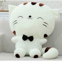 02 - Boneka Kucing Putih 25cm Boneka Impor Boneka Lucu Boneka Bayi