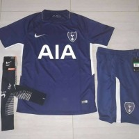 Jersey Baju Kaos Kaki Celana Tottenham Hotspurs 3rd 17/18 Grade ORi